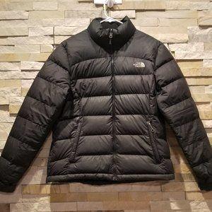 North Face Womens Black XS Puffer Nuptse Jacket